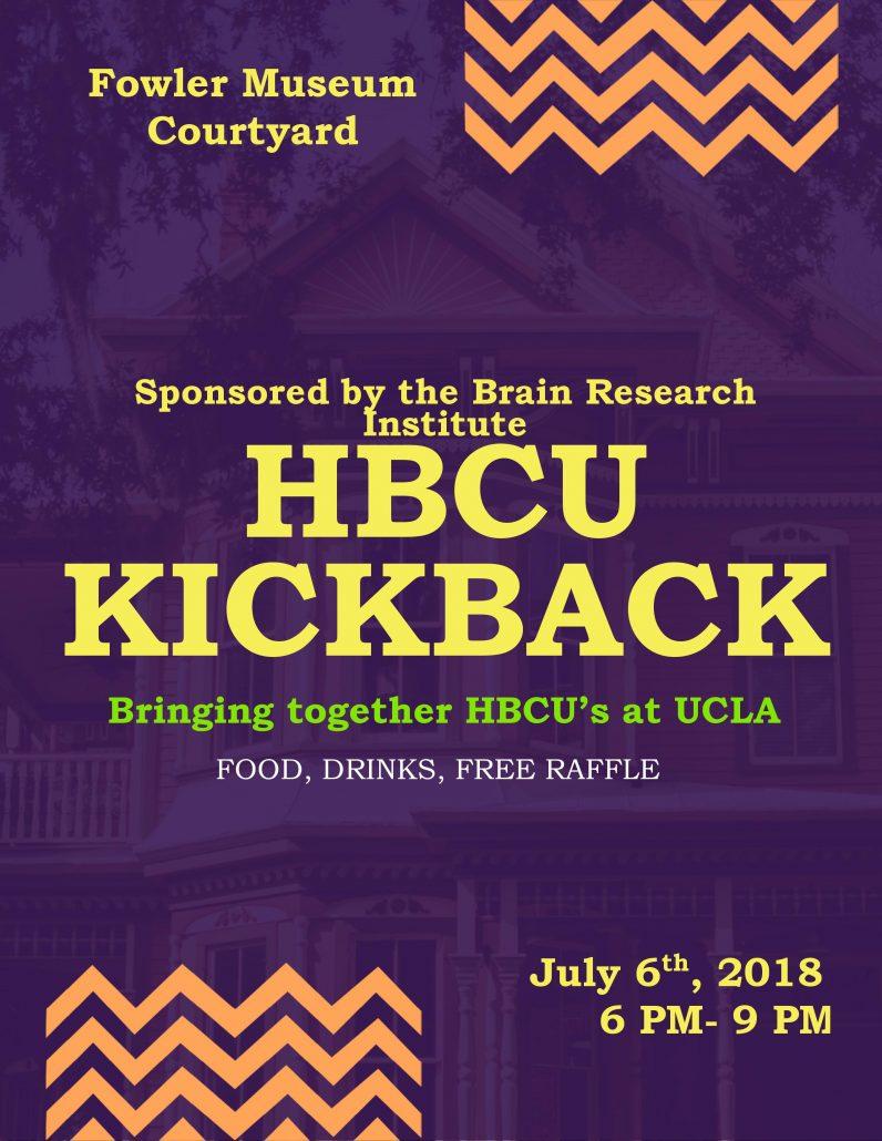Ralph J  Bunche Center for African American Studies | HBCU Kickback